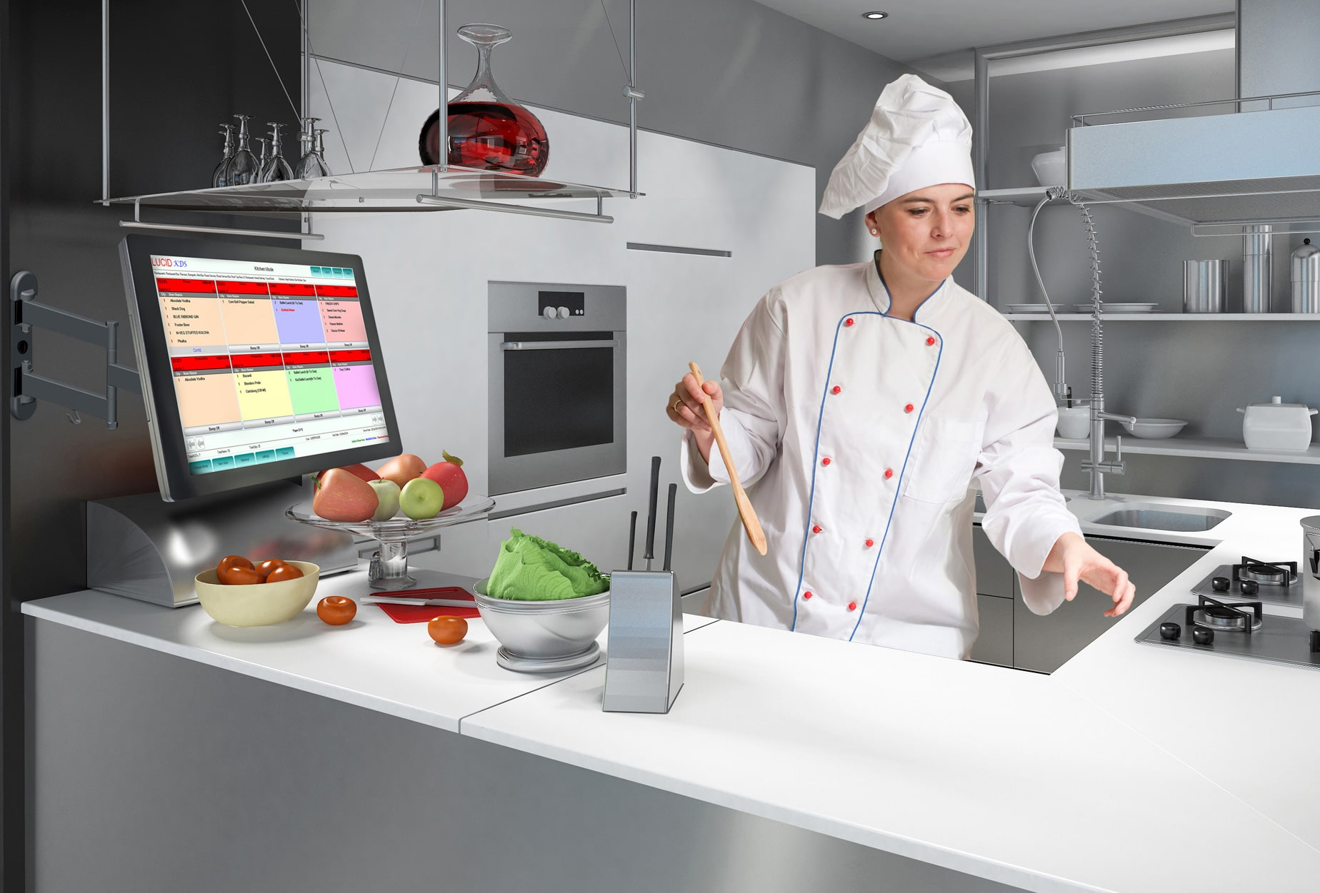 Kitchen Display System for Restaurants